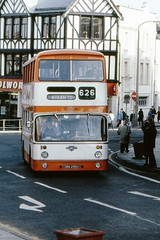 Wigan (georgeupstairs) Tags: bus 1969 bolton 1981 doubledecker wigan gmpte selnec eastlancs atlantean boltoncorporation greatermanchesterpte pdr1a1 lyland