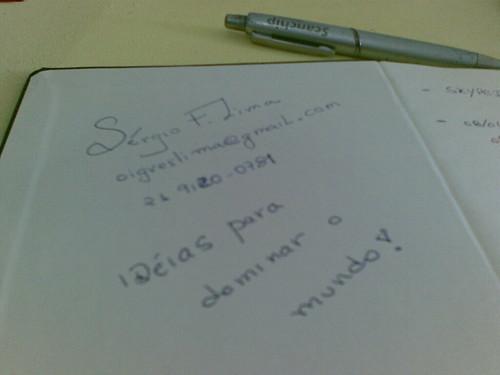 Minha agenda Marcos Cícero