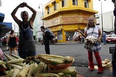 """""""Afueras del Mercado Borbón"""""""