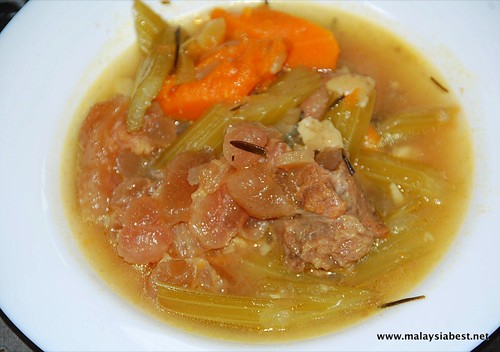 beef tendon stew