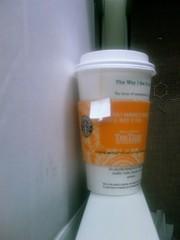 Soy Vanilla Rooibos Tea Latte