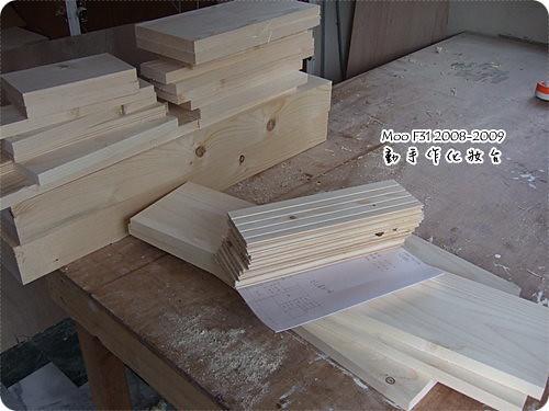手作木工化妝台-1