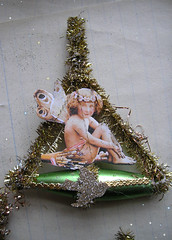 Dresden Ornament! Fairy