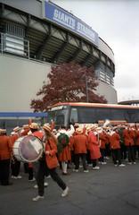 Outside Giants Stadium (Joe Shlabotnik) Tags: giantsstadium meadowlands 1997 faved november1997 princetonband