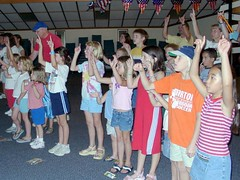 MBC VBS 2005 Show 050 (Douglas Coulter) Tags: 2005 mbc vacationbibleschool mortonbiblechurch