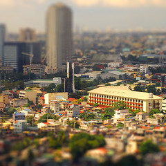 Overlooking Makati (Miniature) (Ma (on hiatus)) Tags: philippines explore makati frontpage tiltshift fakeminiature pinoykodakero explore3331609