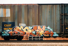 Sace Irak R.I.P. (The Egg Man) Tags: new york city nyc snow art train graffiti dash crew mayhem sace sacer freight irak