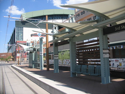 """Chase Field"" Light Rail Station"