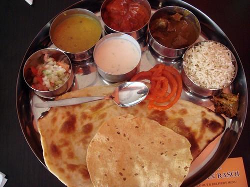 Thali meal@Mehfil