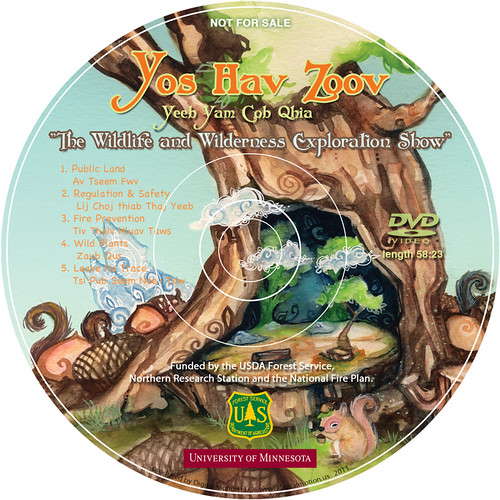 "DVD Face of the ""Wildlife and Wilderness Exploration Show"" is helping to deliver conservation messages designed to encourage Hmong Americans to enjoy public lands and be mindful of the responsibilities associated with enjoying the America's great outdoors."