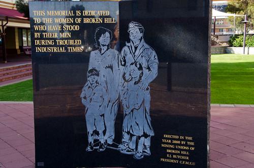 Women's Memorial, Broken Hill, New South Wales, Australia