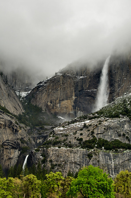 Upper and Lower Yosemite Falls - Pat Ulrich Nature Photography