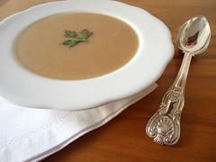 zuppa di farina tostata