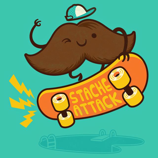 Stache Attack!