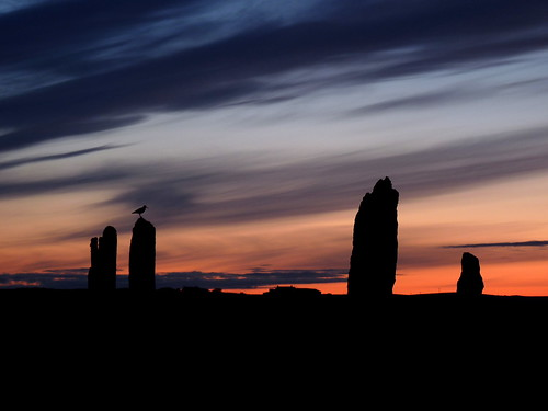 A Midsummer Night - Ring Of Brodgar by orquil