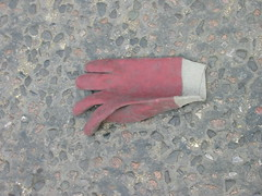IMG_1015 (crispinhj) Tags: street urban found mess trace traces rubbish glove waste discard untidy londonist leftbehind
