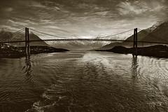Bridge II (Bozze) Tags: bridge norway composite bridges terrascania rörvik