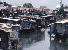 Slums (Rob de Hero) Tags: poverty analog indonesia java slide dia jakarta analogue indonesien slums armut