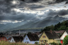 weather change in Olten (Jeri Peier) Tags: city blue trees windows roof wild s
