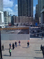 Lincoln Center Fountain Under Construction