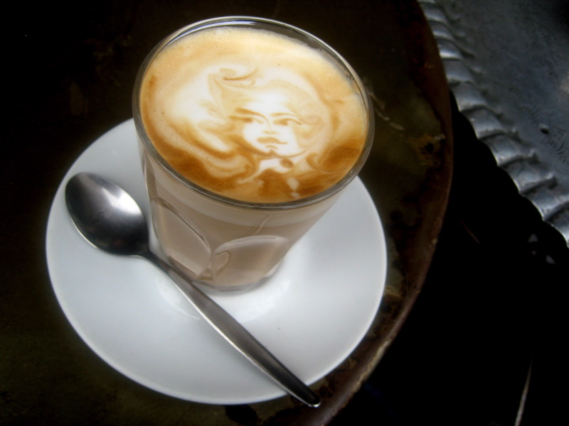 Caffe Latte at Flavours of Lakhoum