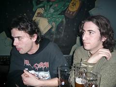 frank y sergio a punto de explicar trabalenguas