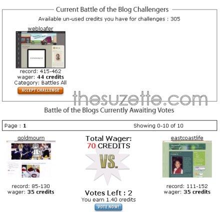 blog battle