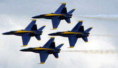 Blue Angels Diamond Formation #2