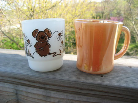 Federal Shell & FK Mouse Mugs