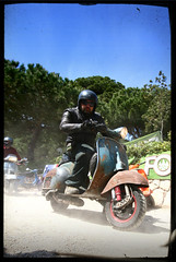 Best Rat i've seen (Adriano.) Tags: vintage rust elba vespa rally rusty lambretta t5 greenonions sprint scooterrally vba px vbb scoots vnb bitubo ratscooter