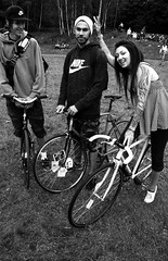 Hub Festival. Cycle Stars. (Brian Johnson 梁文龍) Tags: celebrity bicycle liverpool hubfestival amazingpeople liverpool2008 liverpoolcapitalofculture2008