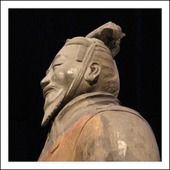Heads of the Terracotta army (YIP2) Tags: china army xian emperor qindynasty terracottaarmy drentsmuseum qindynastie qinshihuangdi