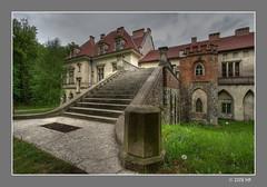 Młoszowa Palace (Mariusz Petelicki) Tags: poland polska hdr trzebinia canonefs1022mm 3xp canon400d mariuszpetelicki pałacwmłoszowej młoszowapalace