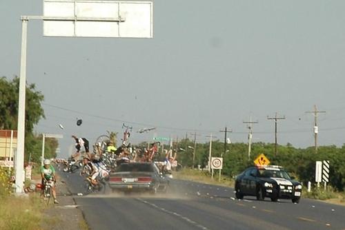Atentado ciclista en Tamaulipas