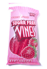 Red Vines Sugar Free Strawberry Package
