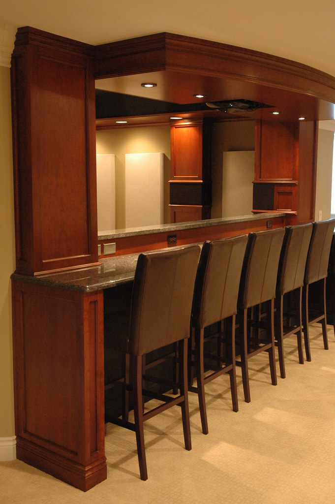 Bar Behind Seating Ideas Avs Forum Home Theater