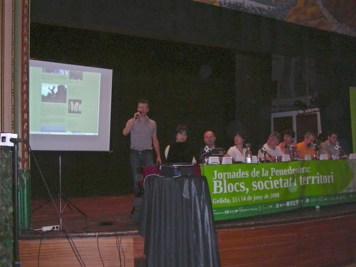 Jornades de la Penedesfera - Cultura blocaire al Penedès