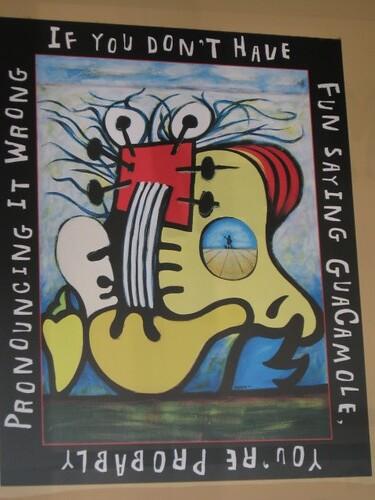 Guacamole sign
