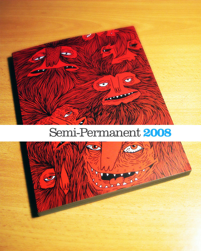 Semi-Permanent 2008 Book - Cover
