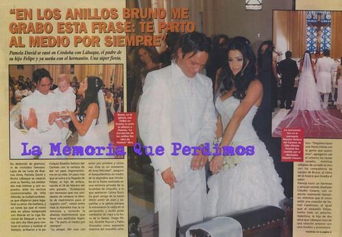 casamiento pamela david 2008