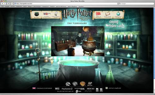 Thumb El juego de Harry Potter y el Misterio del Príncipe