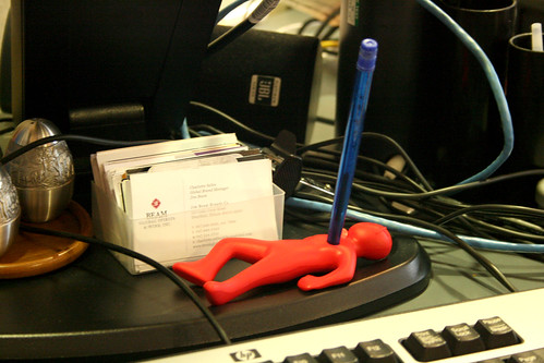 Stress Pen Holder