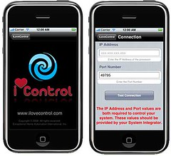Smart Home Blog » iLoveControl love iPhone and Crestron
