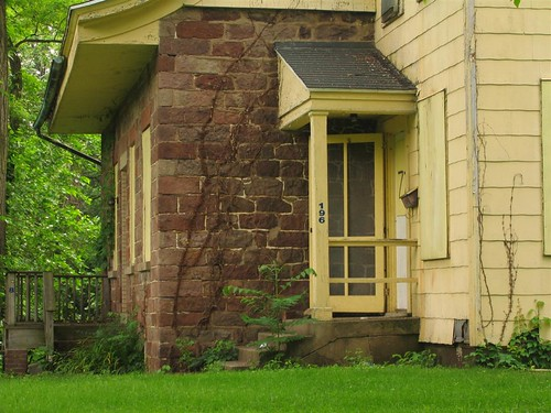 DePew House door