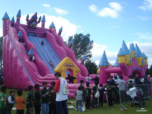 60ft Bouncy Slide