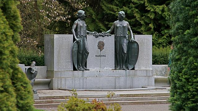 Harding Memorial Sculpture