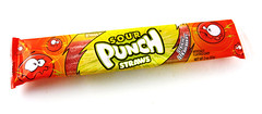 Sour Punch Straws Strawberry Package