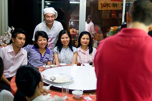 Have a pic taken with Chef Jok, Jok restaurant, Bangkok