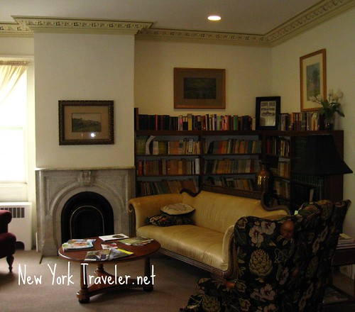 Cazenovia Library Sitting Room 1