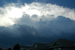 Approaching storm (stevesheriw) Tags: cloud clouds texas thunderstorm fortworth thunderhead tarrantcounty 2008stevenmwagner